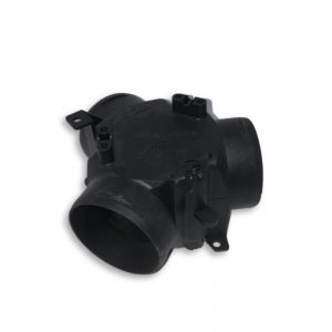 60mm Flap Valve Y Piece Ducting Connector