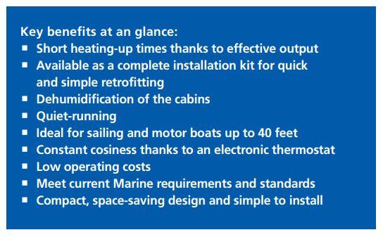 Advantages of Webasto Air Heaters