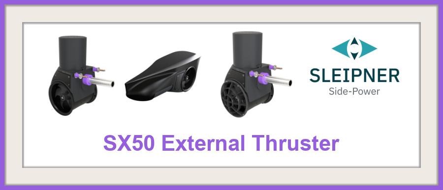 Blog - SX50 External Thruster