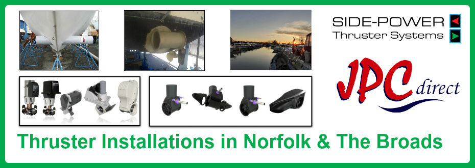 Bow Thruster Installations in Norfolk & The Broads