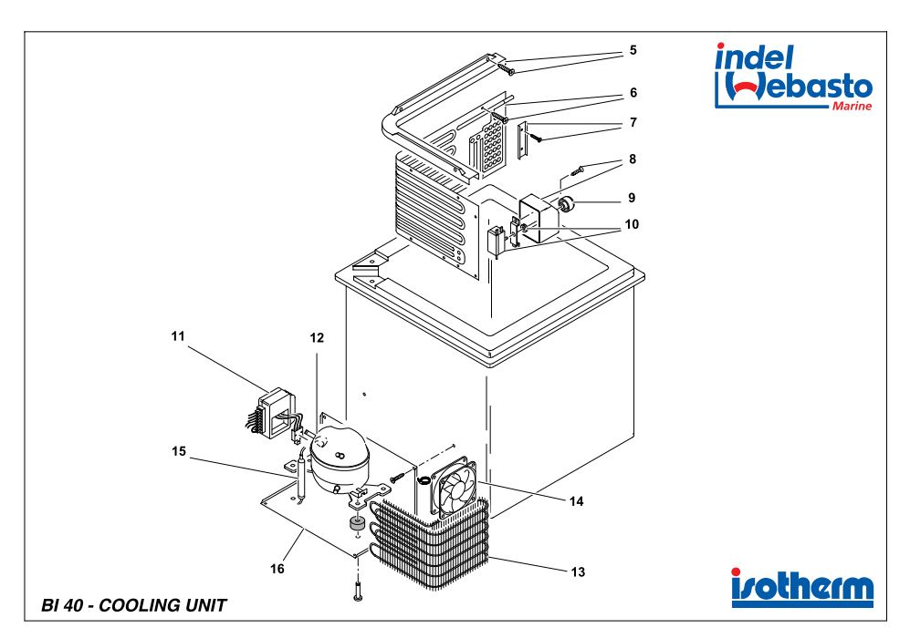 Built-In Box 40 Spare Parts 2