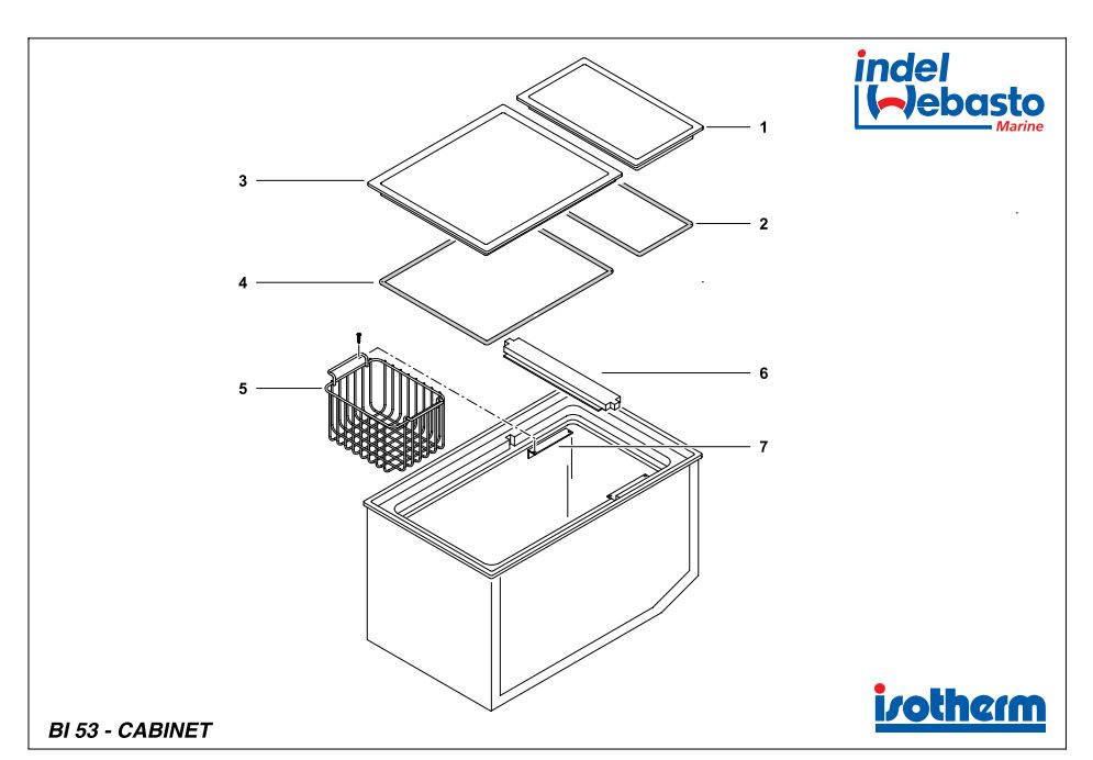 Built-In Box 53 Spare Parts
