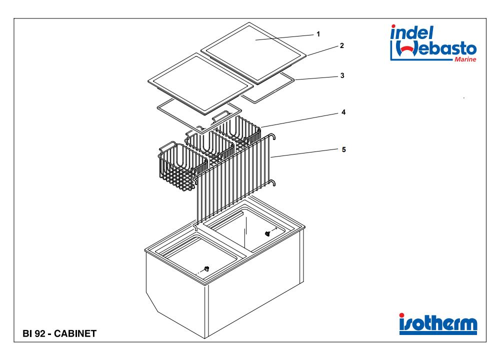 Built-In Box 92 Spare Parts
