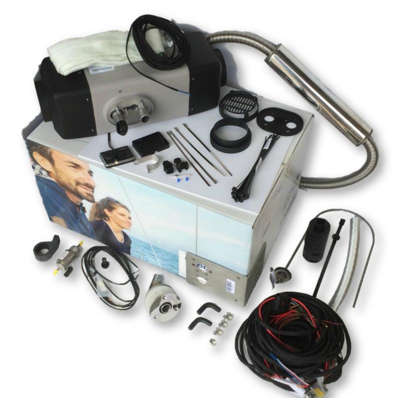 Webasto Air Top EVO 40 Marine Heater Kit
