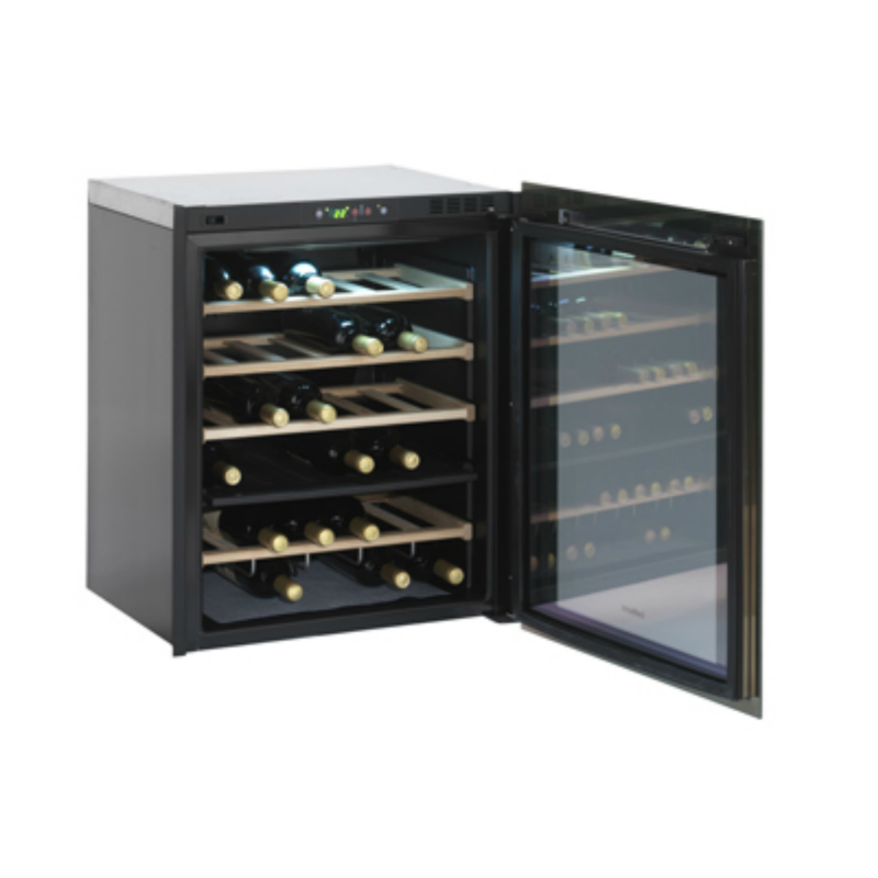 Isotherm Divino 35-Bottle Wine Cellar Open