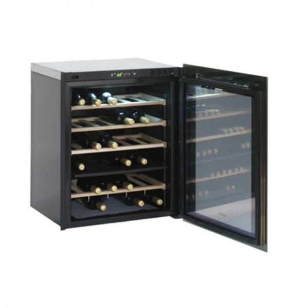 Isotherm Divino 35-Bottle Wine Cellar Open