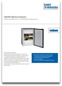 Isotherm Cruise Freezers Data Sheet