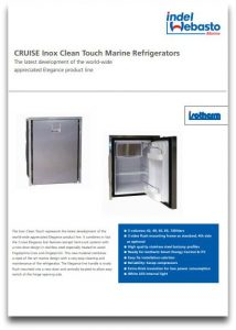 Isotherm Inox Clean Touch Fridges Data Sheet
