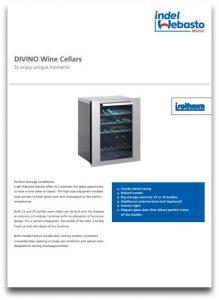 Isotherm Wine Cellars Data Sheet