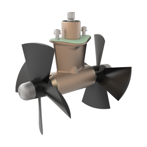 SE130-170-210 4-Blade Propeller Left-Hand Rotation