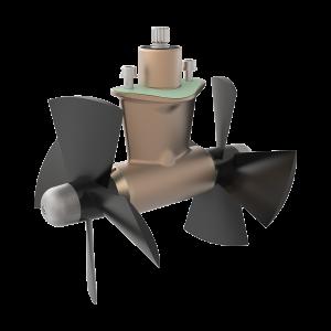 SE130-170-210 4-Blade Propeller Right-Hand Rotation