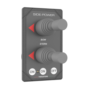 Side-Power Grey Dual Joystick Control 8940G