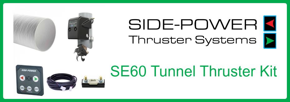 Side-Power SE60 Thruster Kit