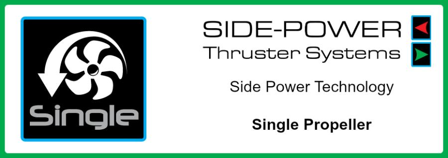 Side-Power Single Propeller Blog Banner