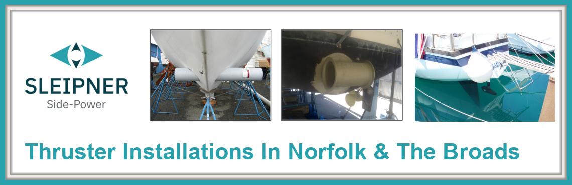 Sleipner Thruster Installations In Norfolk & the Broads