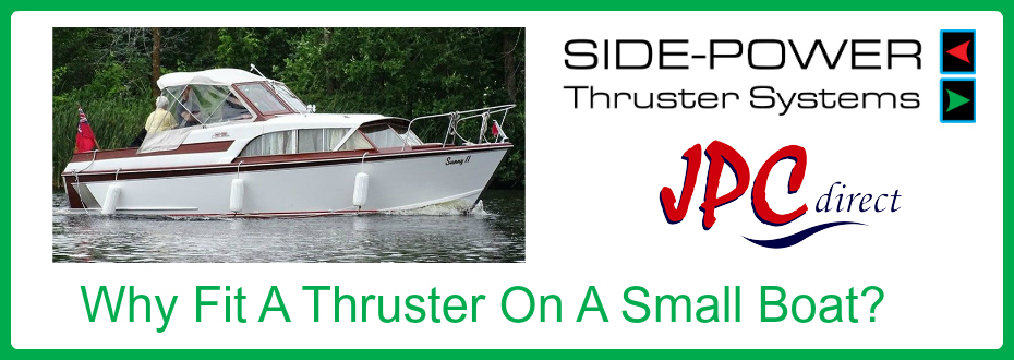 Small Boat Bow Thruster