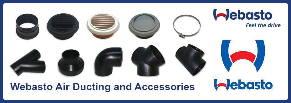 Webasto Air Ducting & Accessories
