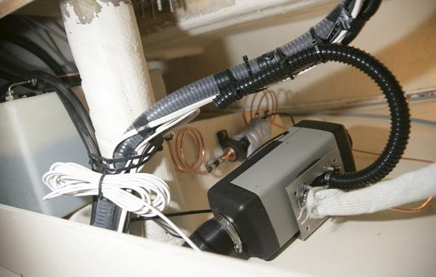 Webasto Air Top Heater Installation