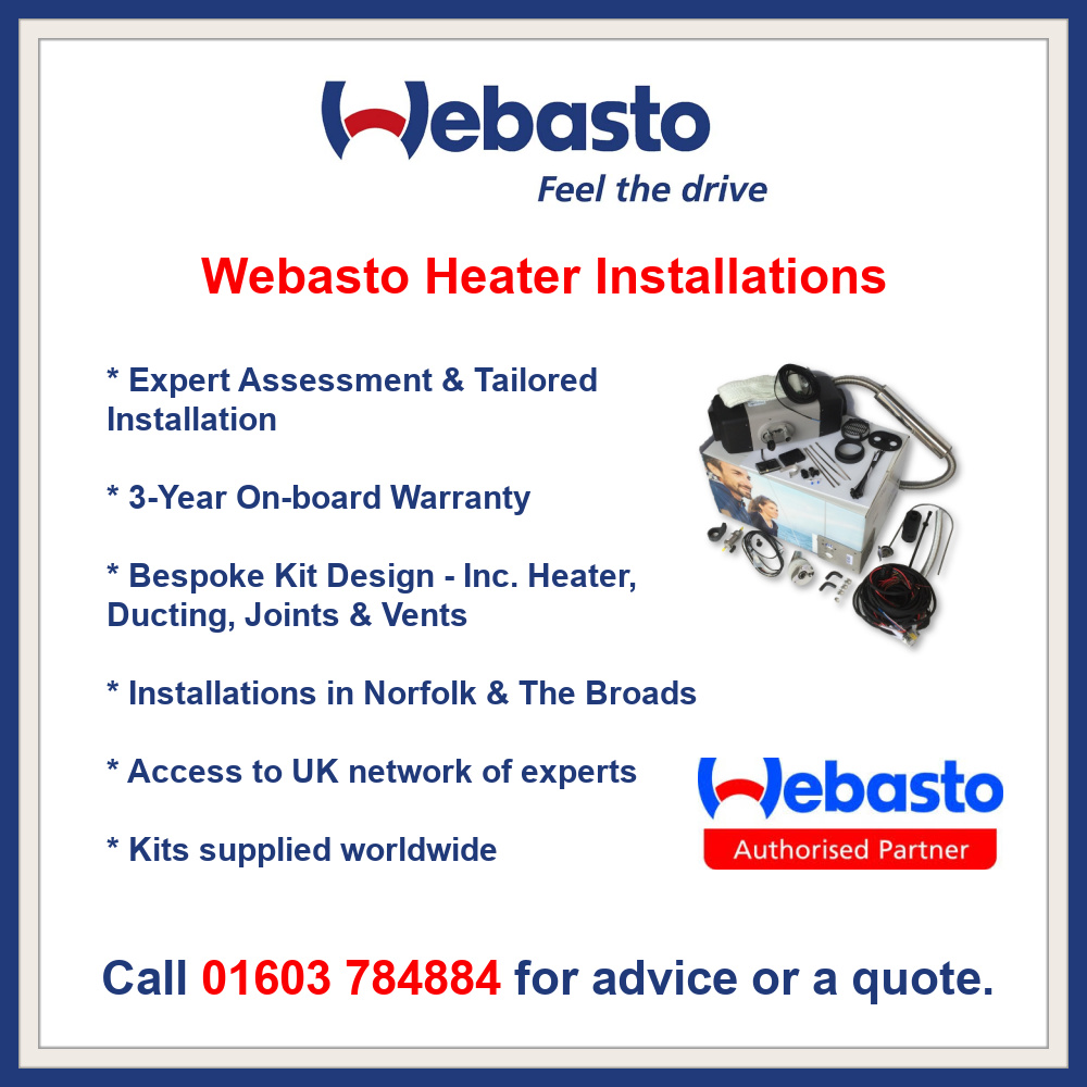 Webasto Heater Installations by JPC Direct