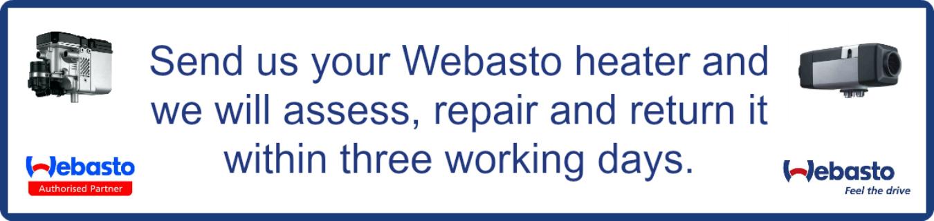 Webasto Heater Servicing