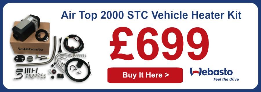 Webasto Air Top 2000 STC Vehicle Heater Kit