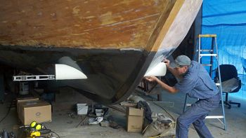Bow Thruster Tunnel Installation