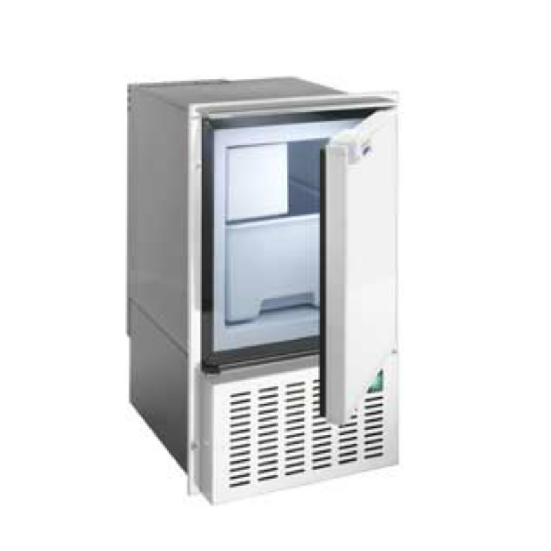 isotherm White Ice Maker White Door Open