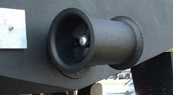 Stern Thruster Installation