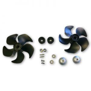 Side-Power SP75/SP95/SP100 Q-prop Upgrade Kit